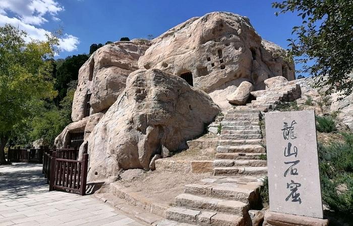 中国现存规模最大的道教石窟——太原龙山石窟