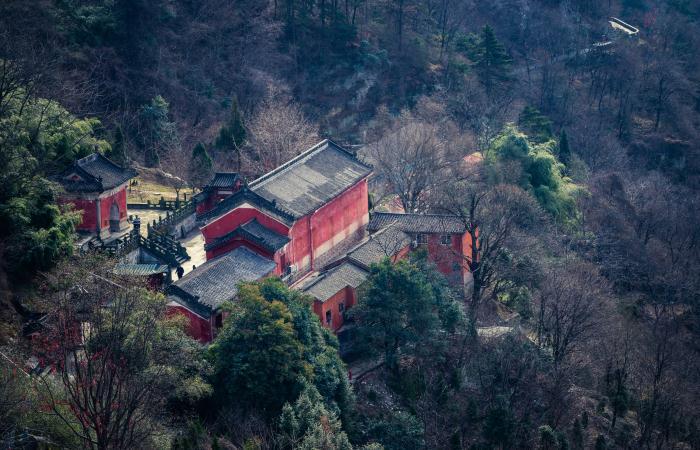 湖北古建筑净乐宫——武当山九宫之首