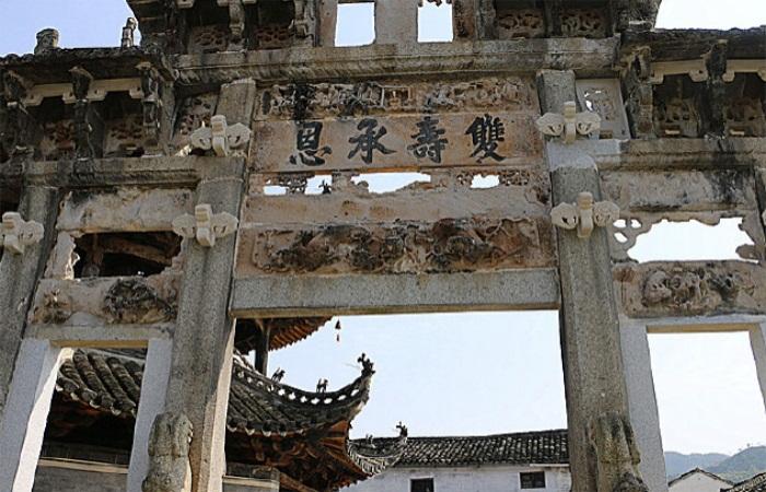 徽州古建三绝——祠堂、民居、牌坊