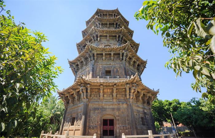中国佛教寺庙规划中佛塔的设计