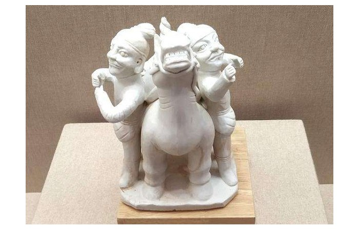 """北宋胡人牵马俑:见证古代""""海上陶瓷之路"""""""