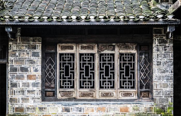 中国古建筑中的门窗墙面构件详解