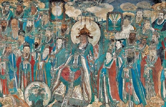 永乐宫《朝元图》——元代壁画艺术最高典范