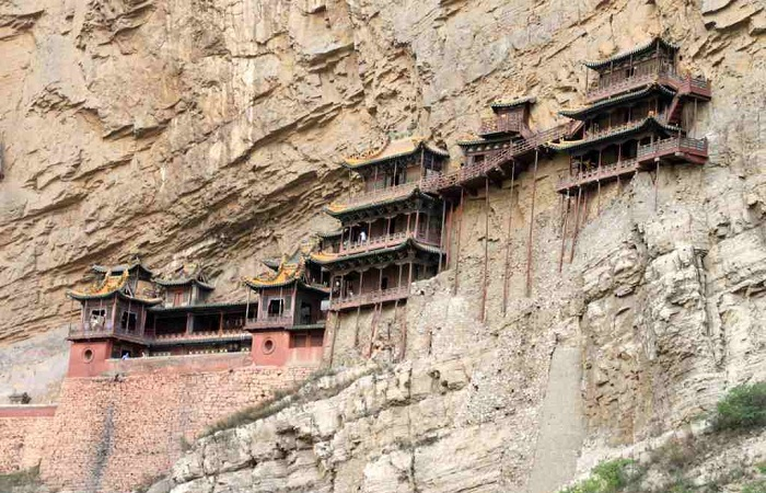 北岳恒山第一奇观——悬空寺