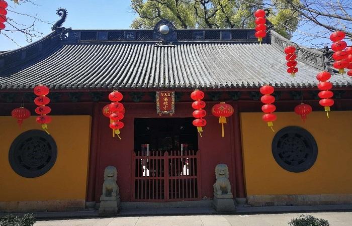 杭州三天竺法镜寺修缮-下天竺法镜寺施工
