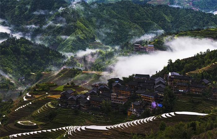 """""""景村融合型""""美丽乡村规划设计的路径"""