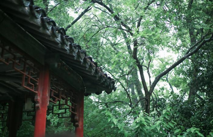 中国园林建筑中的美学价值