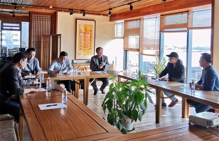 台州市档案局领导莅临古建中国考察指导,共同探讨古村落保护新思路!