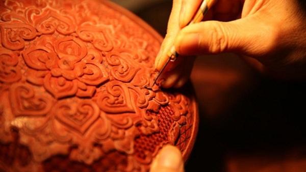 燕京八绝之雕漆