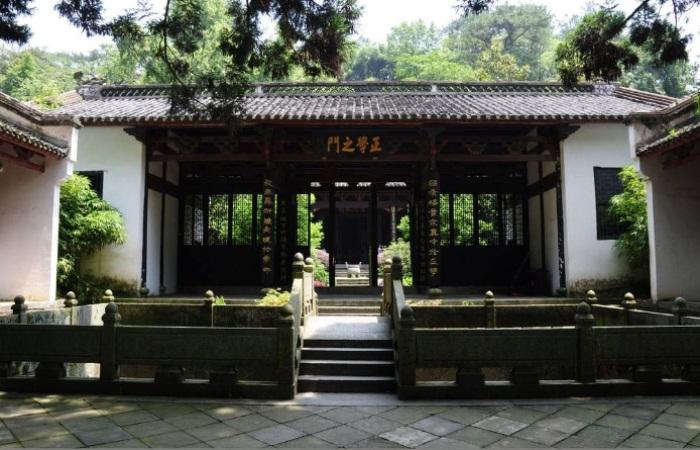 中国古代传统书院的发展与建筑特点