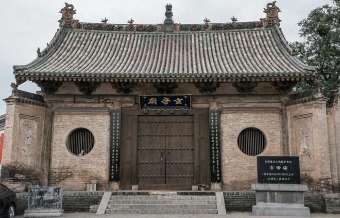 运城河津玄帝庙——保存完整的明代建筑群