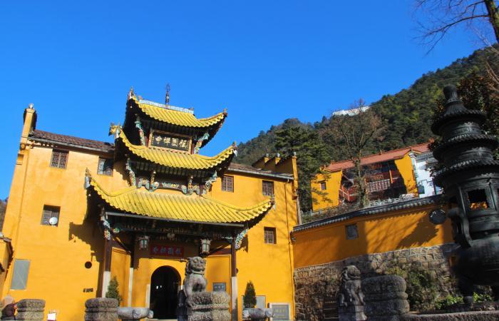 中国寺院建筑的发展与变化