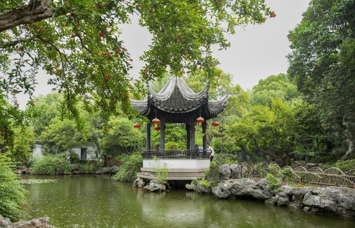 中国园林中景观亭的历史与介绍