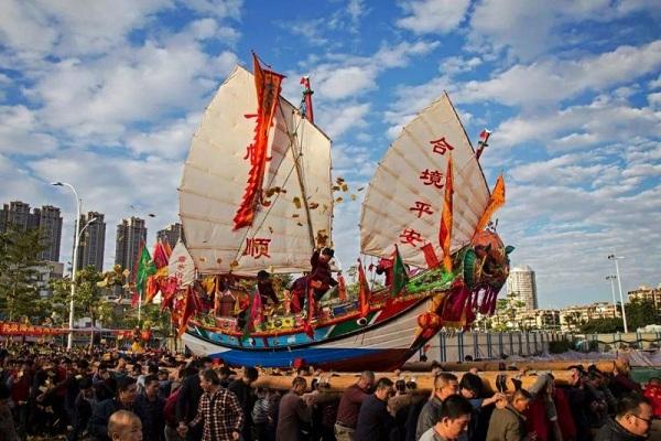 闽南文化习俗·送王船