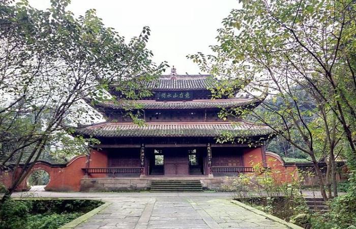 """""""川南道教名山"""" ——400多年历史的真武山古建筑群"""