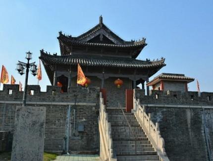 寿县古城墙 全国保存较好的七大古城墙之一