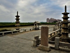 """泉州洛阳桥素有""""海内第一桥""""之誉"""