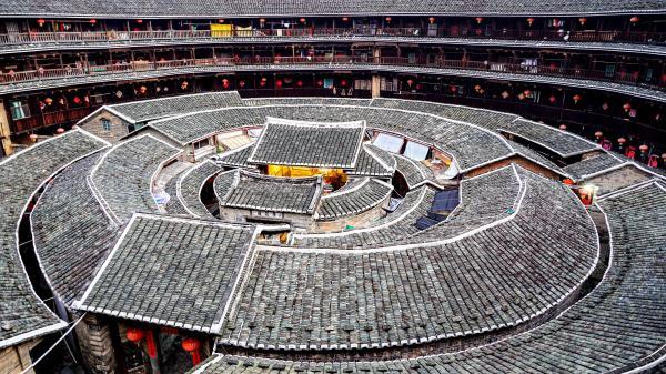 中国古建民居——南靖土楼营造技艺