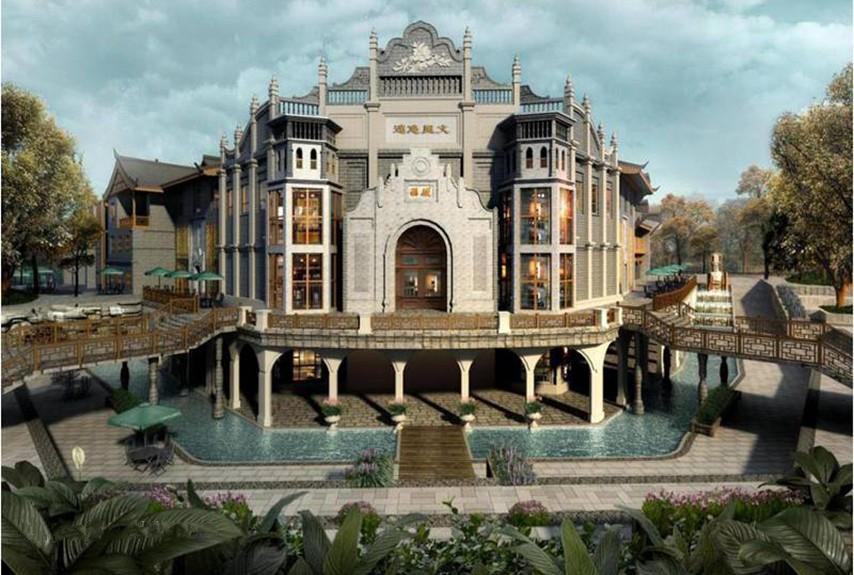 安仁砚湖文化广场