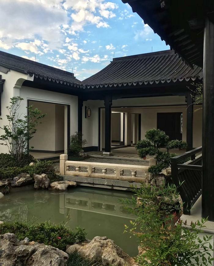 安吉桃花源庭院景观设计