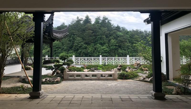安吉桃花源庭院景观设计案例