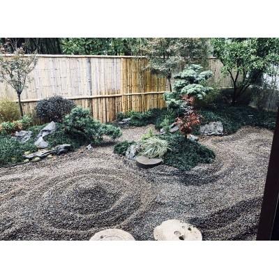 诸暨日式茶室庭院设计案例