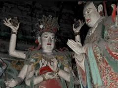 大慧寺明代彩塑诸天护法神初步辨识
