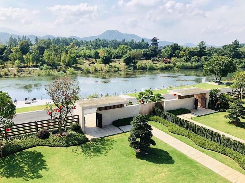 安吉竹博园别墅庭院景观设计案例