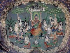 敦煌壁画的风格特征与色彩语言