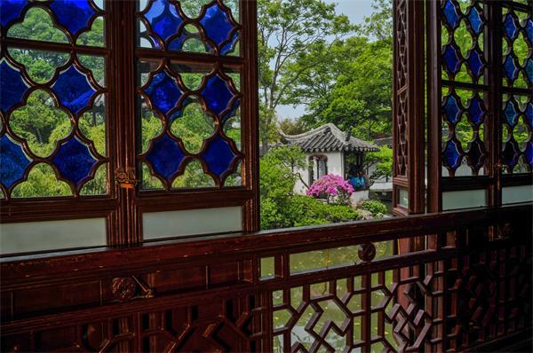 中国古建筑园林室外的装饰构件