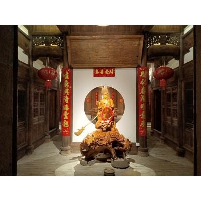 江西抚州古建筑构件店铺设计案例