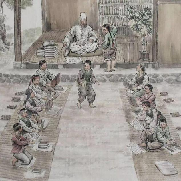 古代文化教育圈