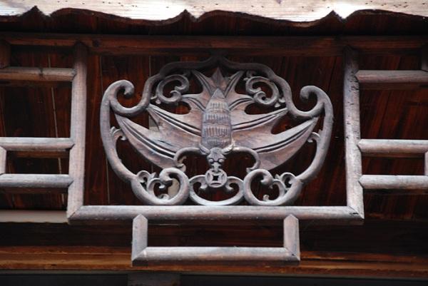 建筑上雕刻蝙蝠的寓意有哪些