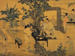 浅谈屏风在中国古代室内中的作用