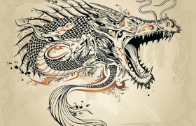 """龙图腾与龙文化:伏羲""""人首蛇身""""形象解析"""