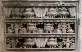 中国古建筑装饰上的那些器物