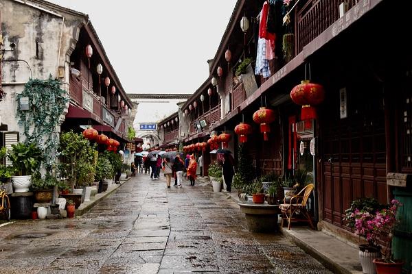 定海古城中大街