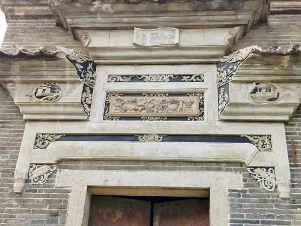 魏家大院砖雕门楣