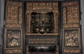 金漆木雕大神龛的前世传奇