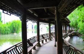 """美人靠--中国传统园林中的""""最文艺的构件"""""""