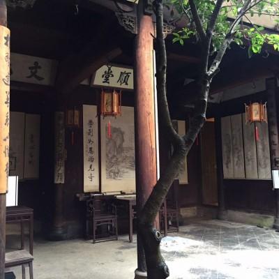 黄山歙县父子进士府邸出售_面积280平米_编号580