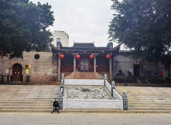 林浦村宋帝行宫