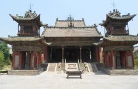 """稷山稷王庙的""""古建三绝""""——石雕、琉璃和木刻"""