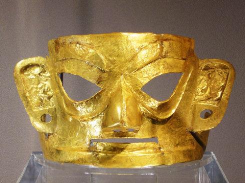三星堆黄金面具