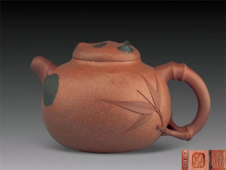 吕尧臣作品-《大熊猫壶》