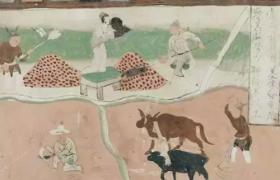 敦煌壁画——揭秘古人春耕劳作场景