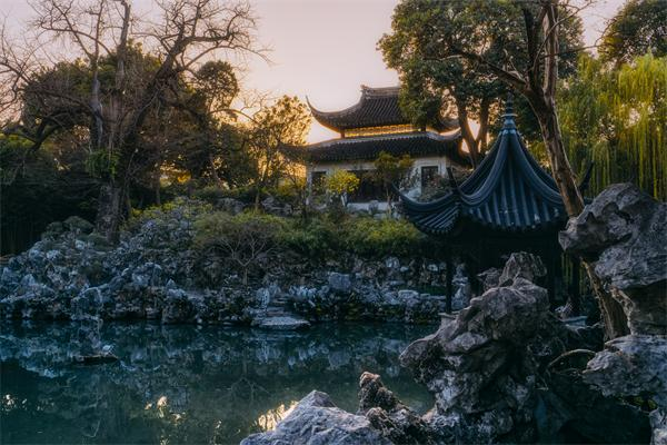 中国古建筑园林狮子林——以湖山奇石闻名天下