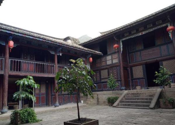 """会泽民居古建筑-素有""""明清古建筑博物馆""""之称"""