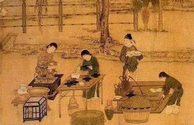 """中国茶文化︱古代人""""吃茶"""",和我们喝茶有何不同?"""