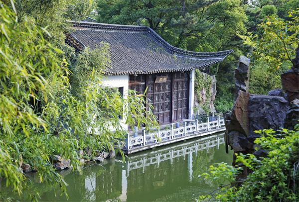 中国古代园林的组成要素有哪些?
